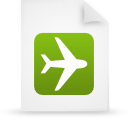 paper, file, green, document icon