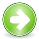 forward, ok, right, arrow, next, correct, yes icon