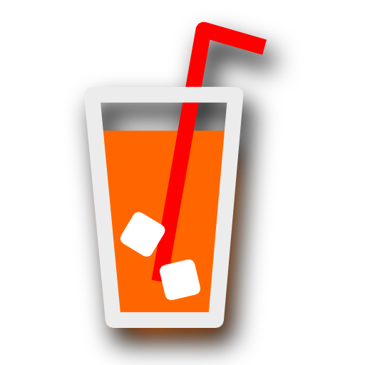 orange, juice icon