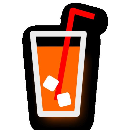 orange, juice icon