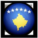kosovo, of, flag icon