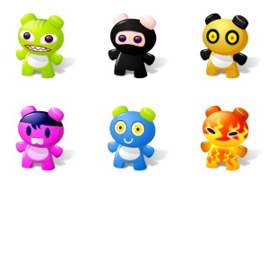 Art Toys icon sets preview
