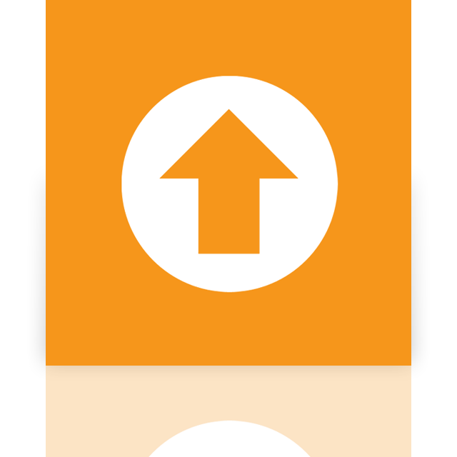 mirror, center, upload, office, ms icon