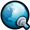 world, search, connect icon