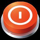 Button, Perspective, Shutdown icon