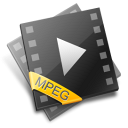mpg, mpeg, video icon