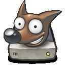 gimp, portable icon