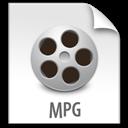 File, Mpg, z icon