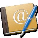school, address, book, old, blue icon
