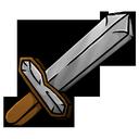 iron, sword icon