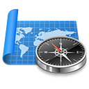 sailing, atlas, navigation, compass, world, map, exploration icon