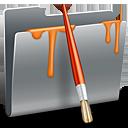 folder, paint, painting, draw icon