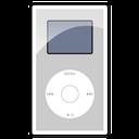 mini, ipod, silver icon