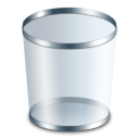 empty, recycle bin, blank, trash icon