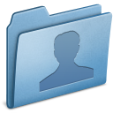 Blue, Users icon
