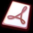 File, Pdf icon