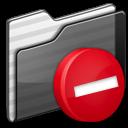 private,folder,black icon