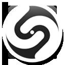 Round, Shazam icon