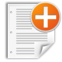 file, new, document, create, paper icon