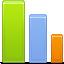 Bars, Chart, Graph, Statistics icon