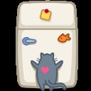 Cat, Fridge icon