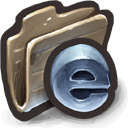 Shiny Blue Browsers icon