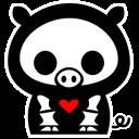 comp, piggy icon