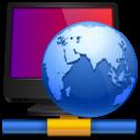 network, hosting, internet icon