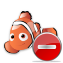 delete,fish,animal icon