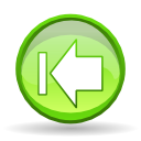 Actions arrow left end icon