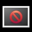 Status missing icon