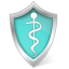 Care, Health, Shield icon