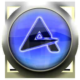 blue, aimp icon