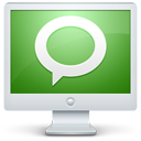 technorati, screen, social, monitor, computer, display icon