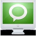 technorati, screen, social, monitor, computer, display icon