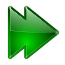 Actions arrow right double icon