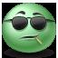 Cool, Emot icon