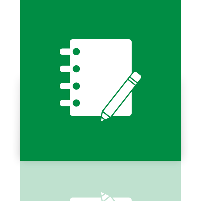 journal, mirror icon