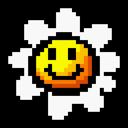 flower, yoshi, retro icon