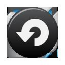 Black Button Repeat Icon Primo Icon Sets Icon Ninja