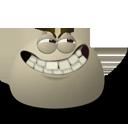 grin,emot,face icon