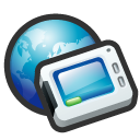 place, network, my network icon