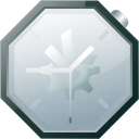 clock, time, alarm, history, alarm clock icon