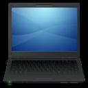 Black, Laptop icon