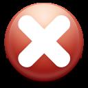 close, cancel, stop, no icon