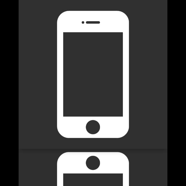 mirror, iphone icon