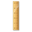 measure, ruler, height icon