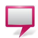Map Marker Board Pink icon