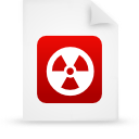 file, red, document, paper icon