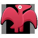 pterodactyl, dinosaur, cartoon icon